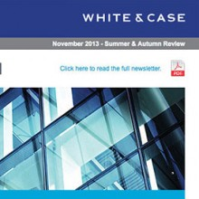 White & Case 'The Real Deal' newsletter