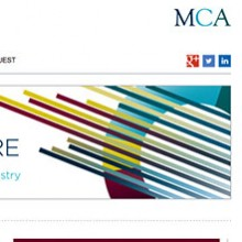 Management Consultancies Association content managed 'Industry Insight' microsite